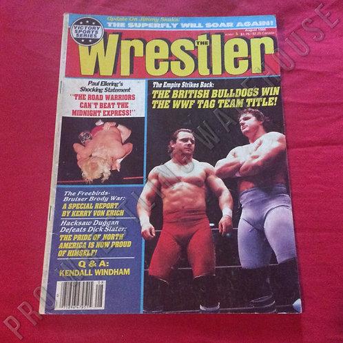 The Wrestler - August 1986