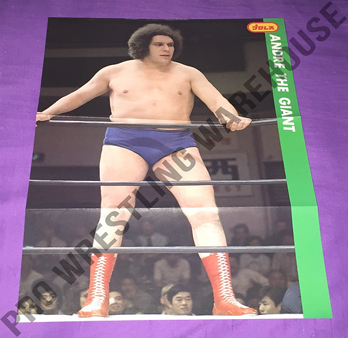 Andre The Giant Vintage Poster from Japan