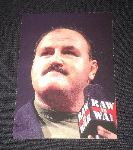 Sgt. Slaughter WWE Wrestling Trading Card