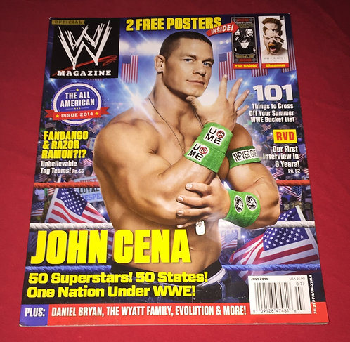 WWE Magazine July 2014 - John Cena