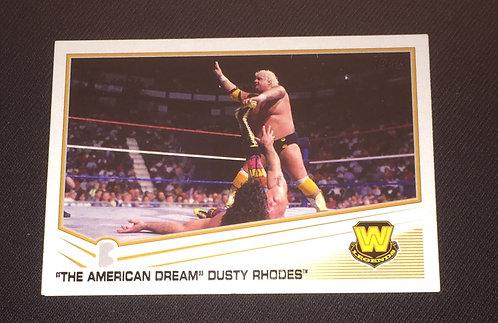 Dusty Rhodes WWE Wrestling Trading Card