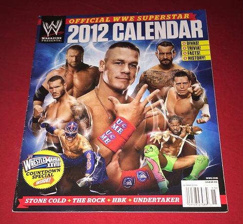WWE 2012 Superstar Calendar Magazine