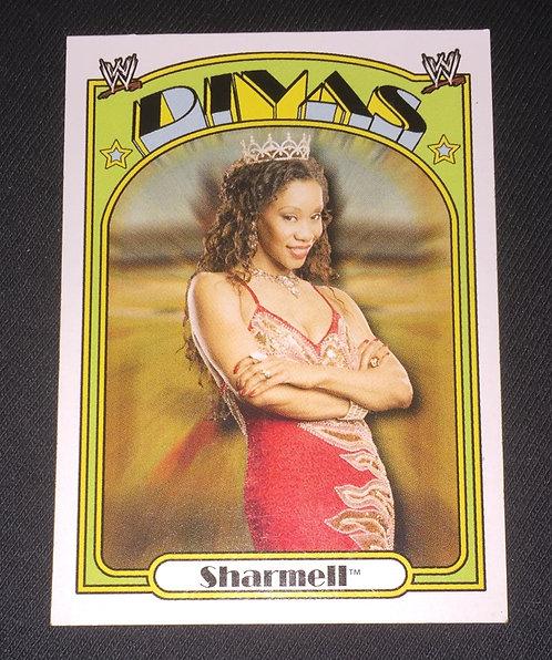 Sharmell WWE Wrestling Trading Card