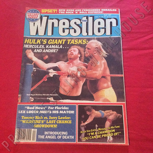 The Wrestler - April 1987