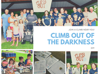 3rd Annual NWI Climb Out of the Darkness