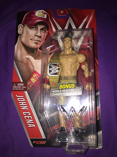 John Cena WWE Mattel Wrestling Figure -Chase the Belt-