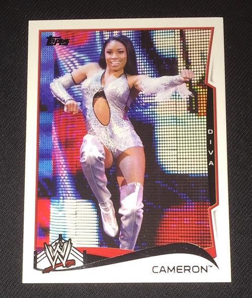 Cameron WWE Wrestling Trading Card