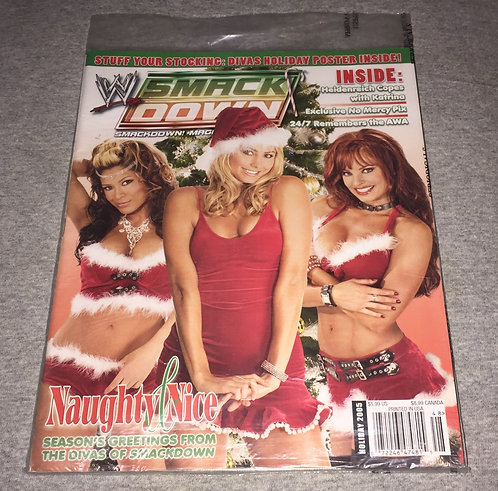 WWE Smackdown Magazine - Holiday 2005, Divas