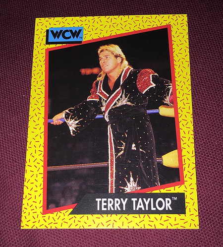 Terry Taylor WCW Wrestling Trading Card
