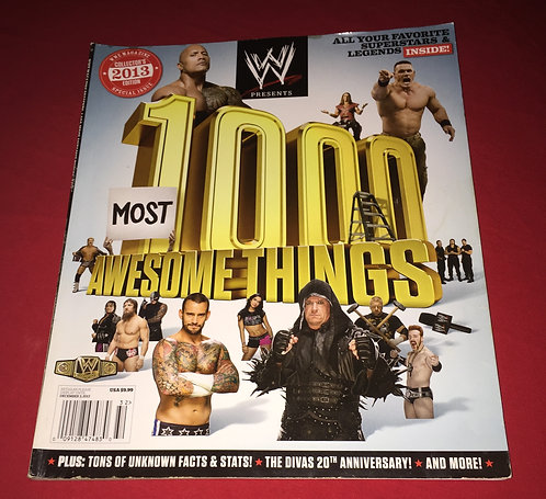 WWE 1,000 Most Awesome Things, 2013 Collector's Edition