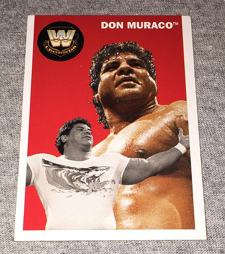 """Magnificent"" Don Muraco WWE Legends Wrestling Trading Card"