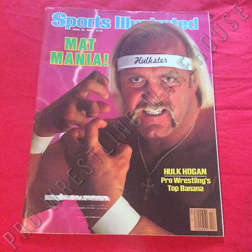 Sports Illustrated - April 1985