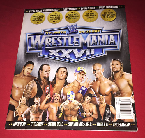 WWE Wrestlemania 27 Special Collector's Issue (2011)