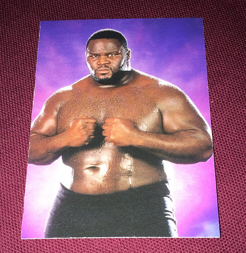Mark Henry WWE Wrestling Trading Card