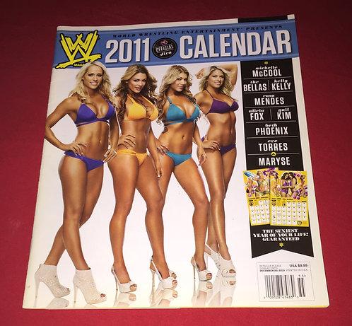 WWE 2011 Official Divas Calendar Magazine