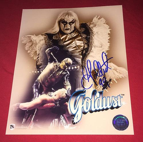 Goldust Autographed WWE 8x10 Promo Photo