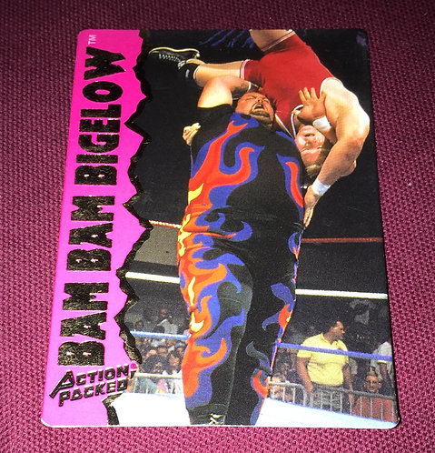Bam Bam Bigelow WWF/WWE Action Packed Wrestling Trading Card