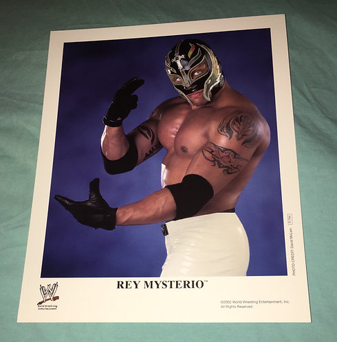 Rey Mysterio WWF/WWE Promo Photo P-784 (2002)