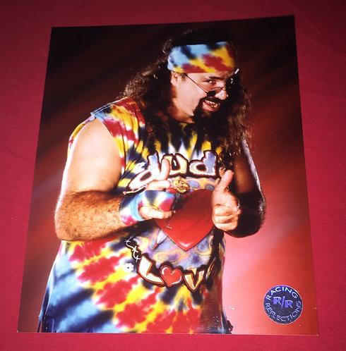 Dude Love - Mick Foley WWF/WWE 8x10 Wrestling Promo Photo