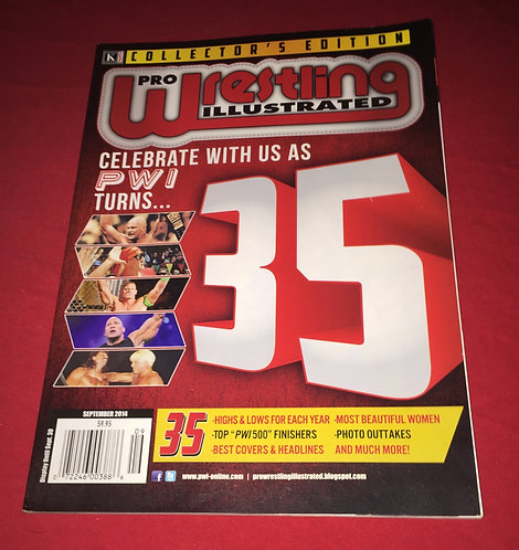 Pro Wrestling Illustrated September 2014 - 35 Year Anniversary Issue