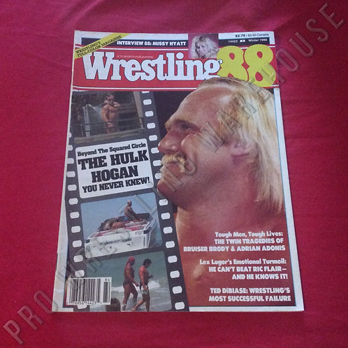 Wrestling 88 - Winter 1988