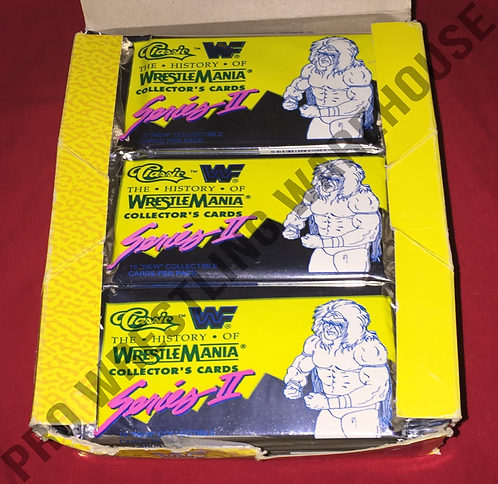 History of Wrestlemania Collector's Cards - Series 2 (1-Pack)