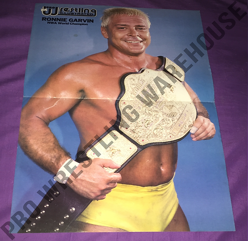 Ronnie Garvin Poster - With NWA Belt