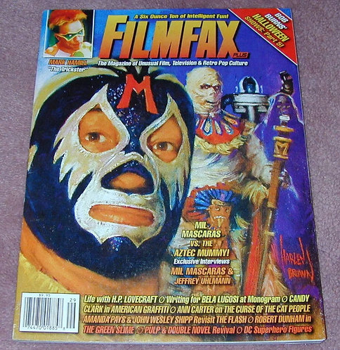 FilmFax Magazine Featuring Mil Mascaras Story