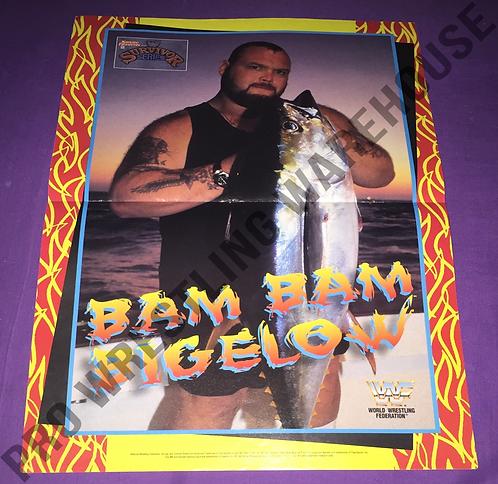 Bam Bam Bigelow, WWF, WWE, Wrestling Poster