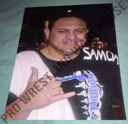 Samoa Joe 4x6 Wrestling Photo - TNA