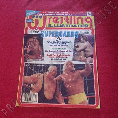 Pro Wrestling Illustrated - September 1986