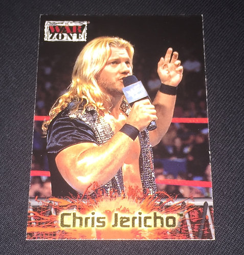 Chris Jericho WWE Wrestling Treading Card - RAW