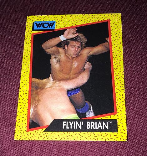 Flyin' Brian Pillman WCW Wrestling Trading Card