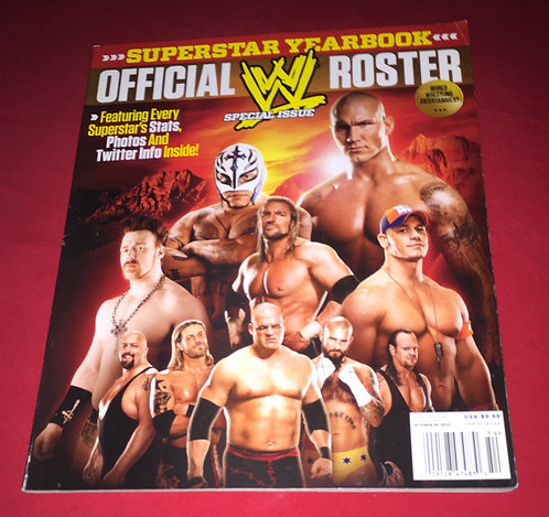WWE Official Roster 2010 Yearbook