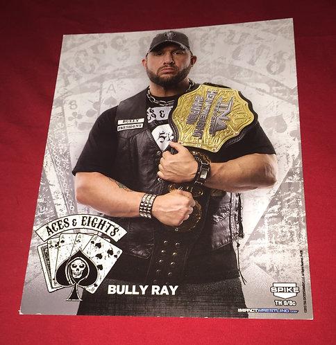 Bully Ray with TNA Belt 8x10 Promo Photo