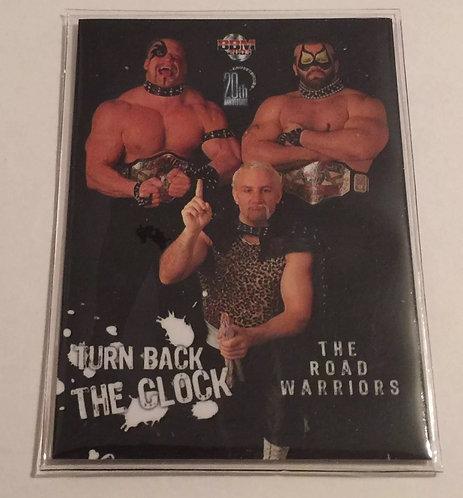 Road Warriors & Paul Ellering Wrestling Trading Card from Japan - Rare