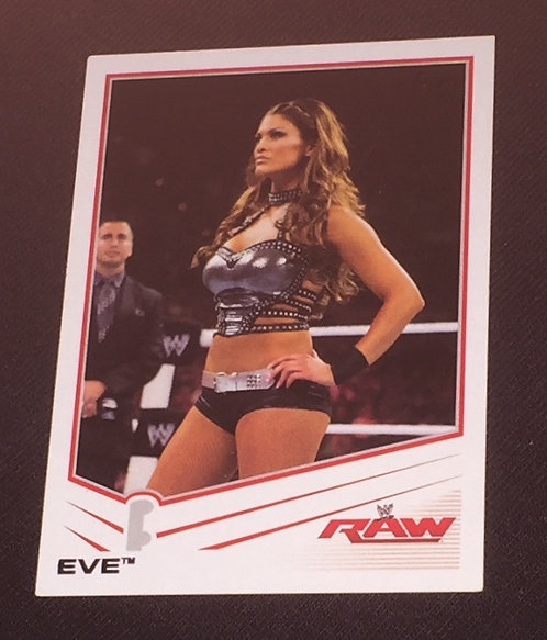 Eve WWE Wrestling Trading Card - RAW