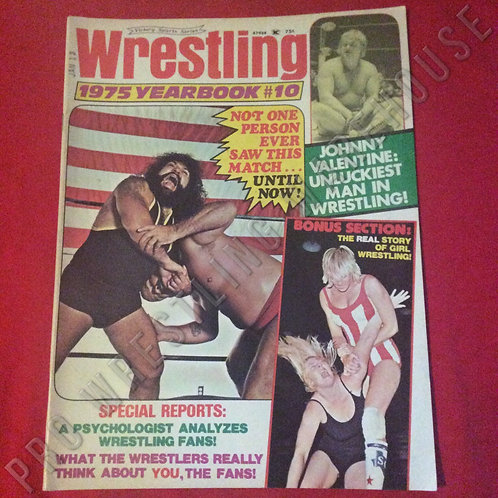 Wrestling Yearbook - 1975