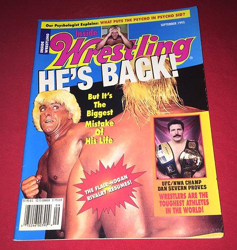 Inside Wrestling September 1995 - Ric Flair