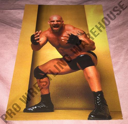 GOLDBERG 4x6 WCW Wrestling Promo Photo