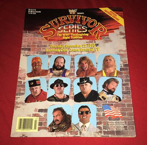 WWF/WWE Survivor Series Program, November 22nd, 1990