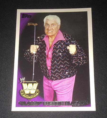 """""""Classy"""" Freddie Blassie WWE Wrestling Trading Card"""