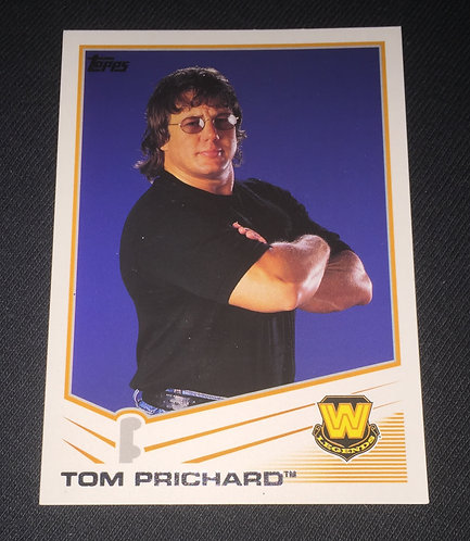 Tom Prichard WWE Wrestling Trading Card