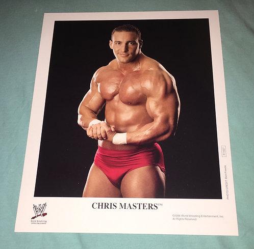 Chris Masters WWF/WWE Promo Photo P-1027 (2006)