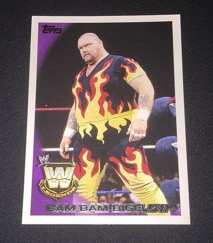 Bam Bam Bigelow WWE Wrestling Trading Card