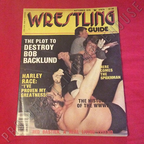 Wrestling Guide - September 1979