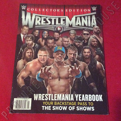 WWE WrestleMania Yearbook - 2015