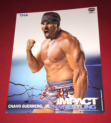 Chavo Guerrero Jr. 8x10 Promo Photo