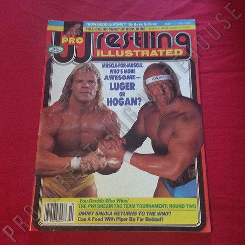 Pro Wrestling Illustrated - October 1989