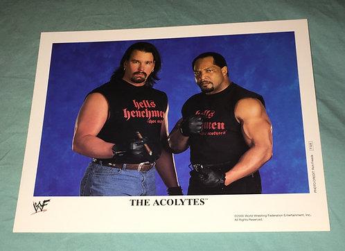 The Acolytes WWF/WWE Promo Photo P-628 (2000)